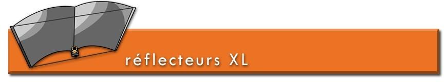 Réflecteurs horticoles XL pour lampes de culture