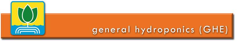 Engrais et additifs de la marque General Hydroponics